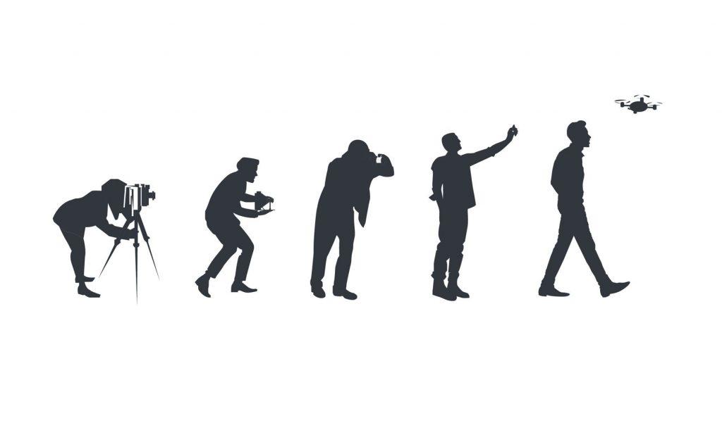 Evolution of portrait photography